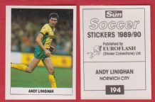 Norwich City Andy Linighan 194